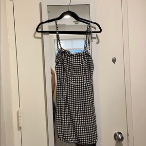 Checkered Cupcakes and Cashmere tie dress